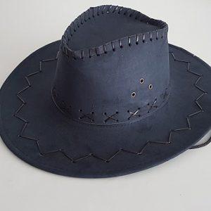 Cowboy hat -navy blue