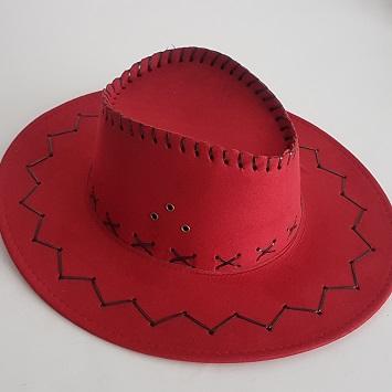 Cowboy hat - red