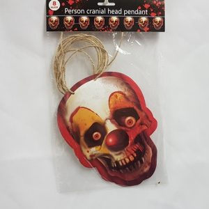 Creepy clown string banner