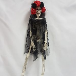 Day of the Dead skeleton lady - bride