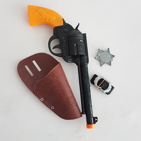 Gun & holster set - western