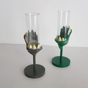 Monster plastic wine glasses
