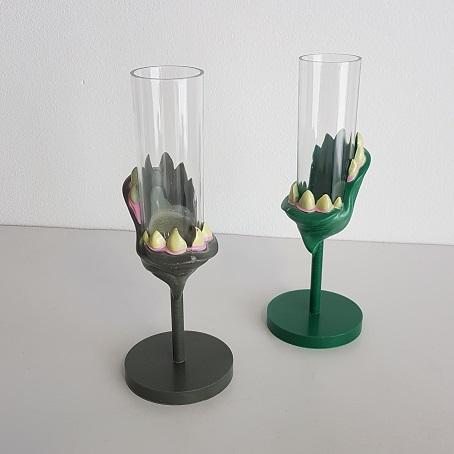 Monster plastic wine glasses