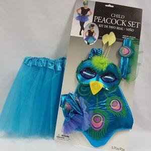 Peacock dress up set