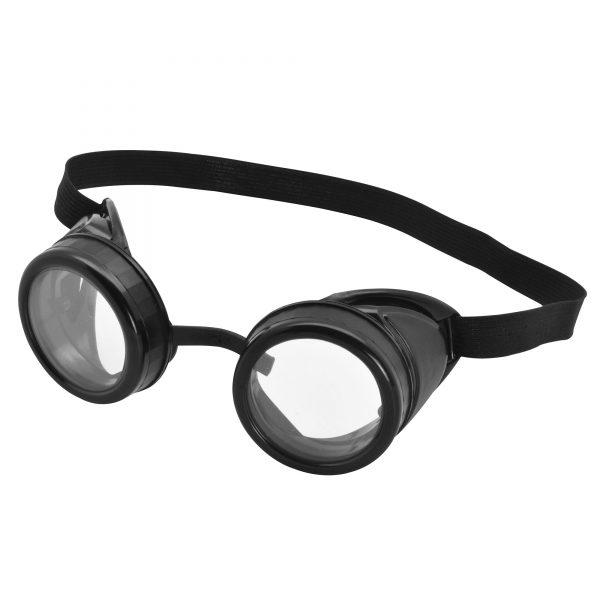 Pilot steampunk goggles
