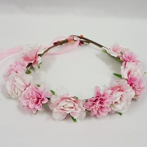 Pink fairy headdress