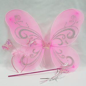 Pink wing set