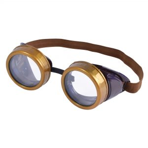 Steampunk goggles - brown