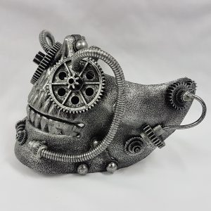 Steampunk mask side view