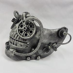 Steampunk mask side view