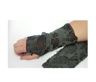 Tattered glovelets