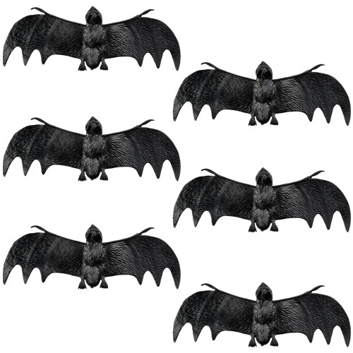 Pack of 6 small bats