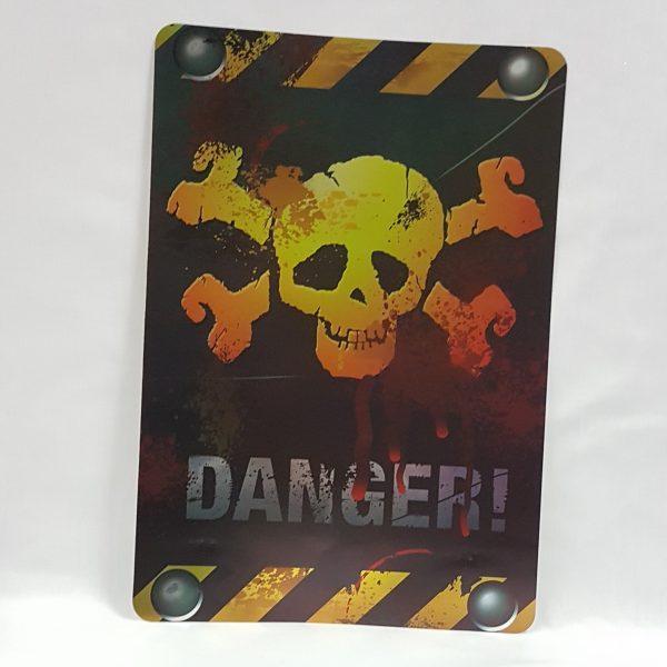 Holographic danger sign