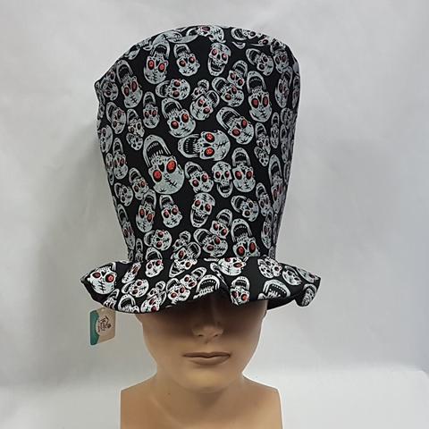 Large top hat skull design