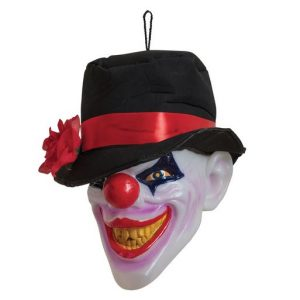 Light up clown head