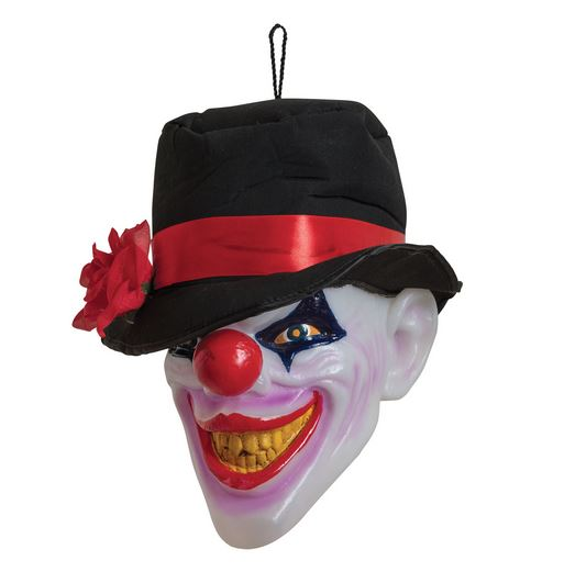 Light up clown head