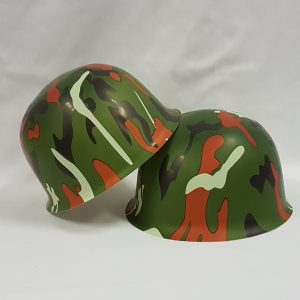 Plastic child army helmet