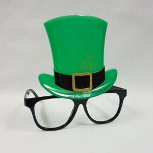 St Patrick's Day glasses