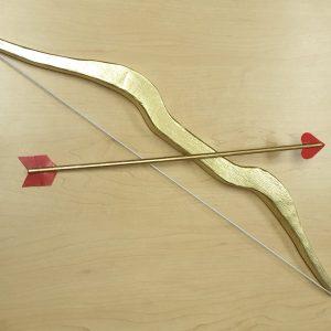 Cupid's bow & arrow