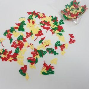 Mexican confetti decor