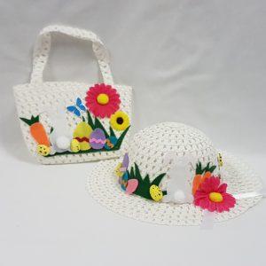 Easter bonnet & bag