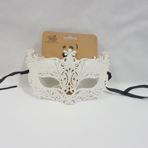 Glitter mask mother of pearl