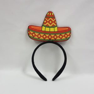 Mexican headband with sombrero