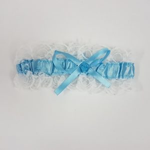Keepsake garter blue