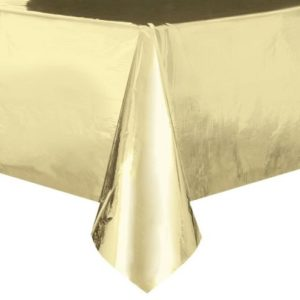 Pale gold table cover
