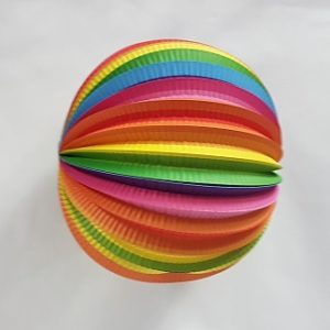Paper ball decoration