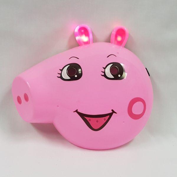 Peppa pig light up mask