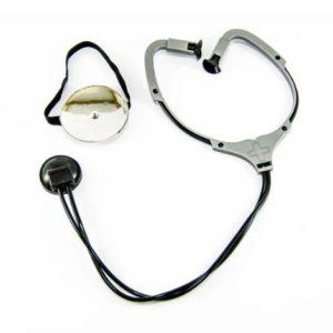 Toy stethoscope & reflector