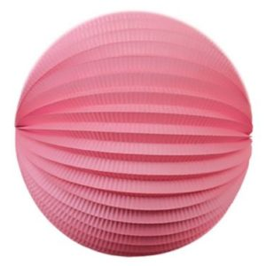 Accordion ball cerise pink