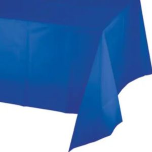 Cobalt blue table cover