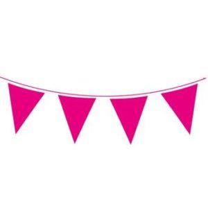 Hot pink bunting