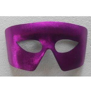 Purple eye mask