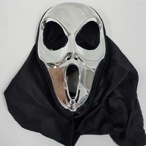 Silver Alien mask