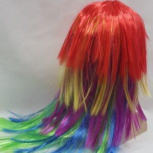 Multi color wig